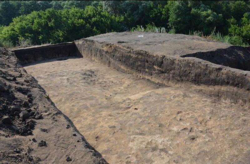 Нижнекрасавское поселение бронзового века