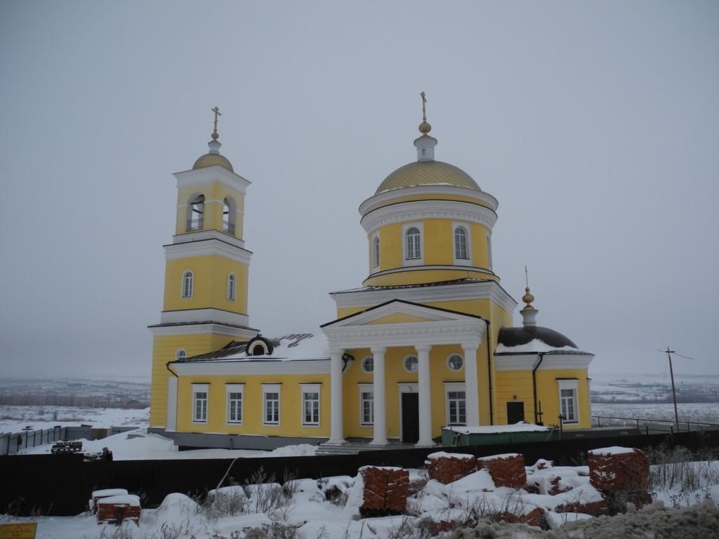 Храм Новомучеников и исповедников Саратовских
