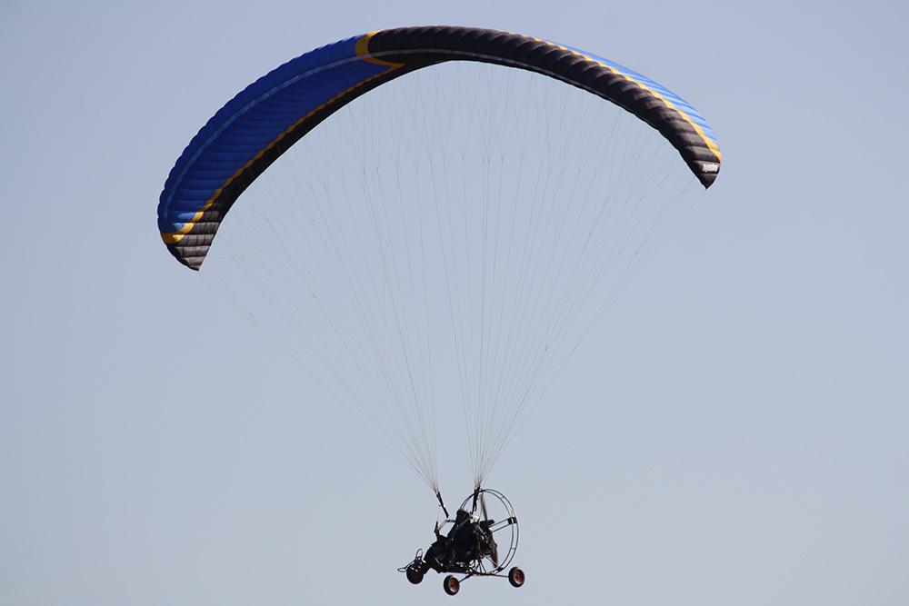 Полеты на параплане в Крылатом