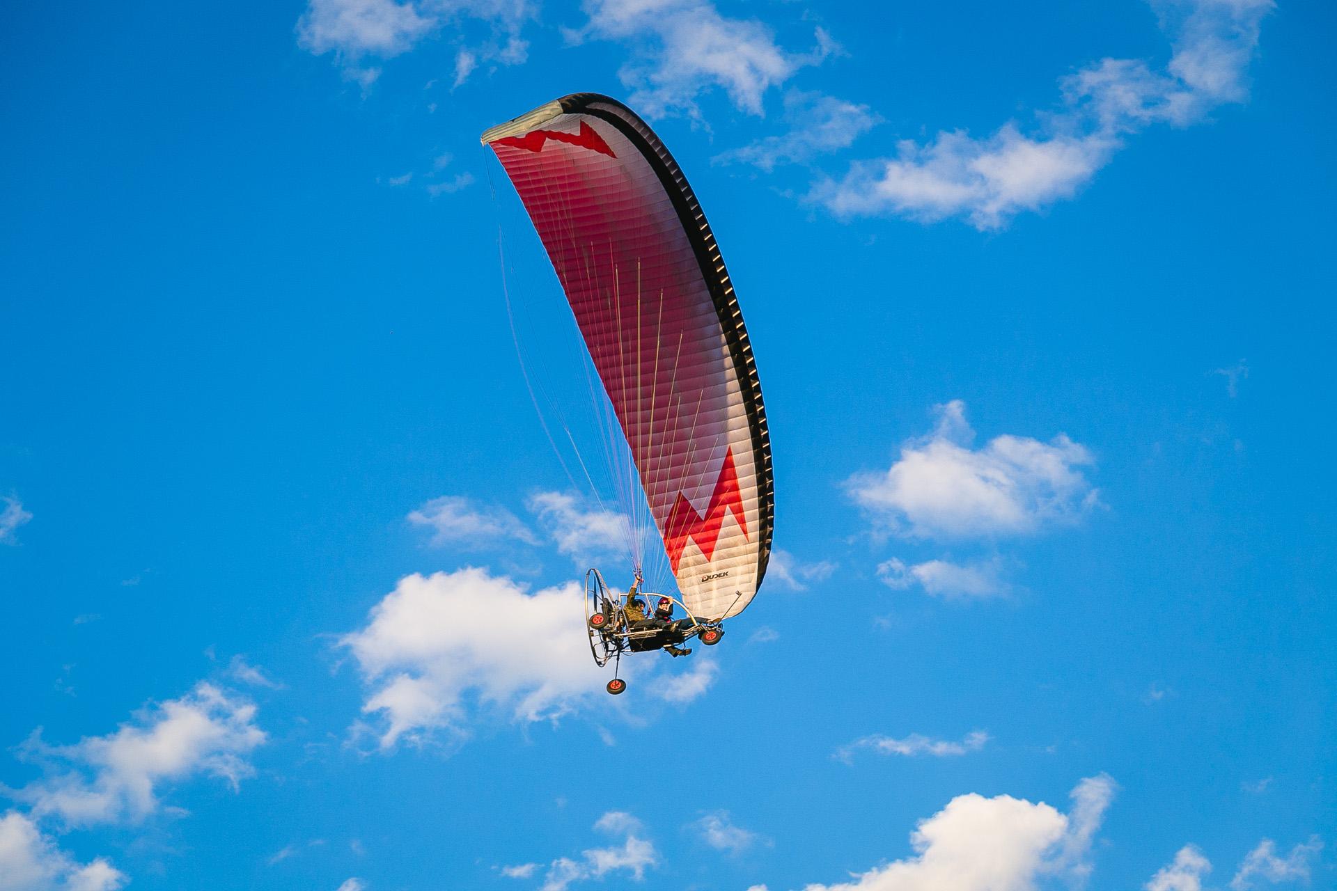 Полет на мотопараплане Лавка Чудес