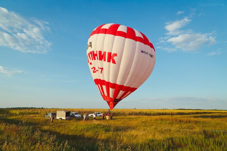 Полет на воздушном шаре Лавка Чудес