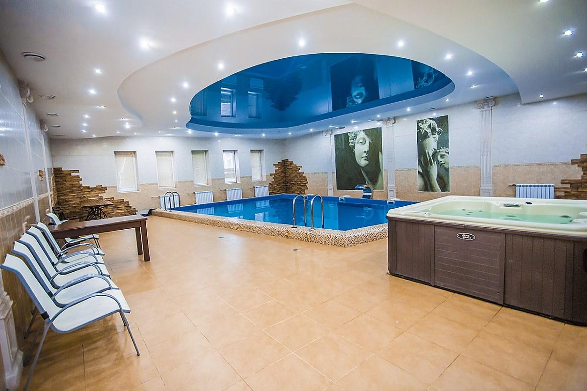 Сауны гостиничного комплекса «Мираж»