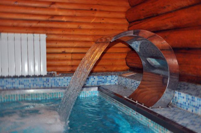 Сауна Нептун в Кемпинге