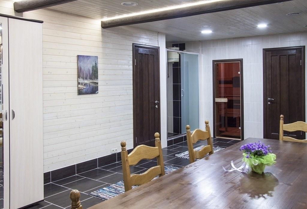 Сауна эко-отеля Panda Villadge