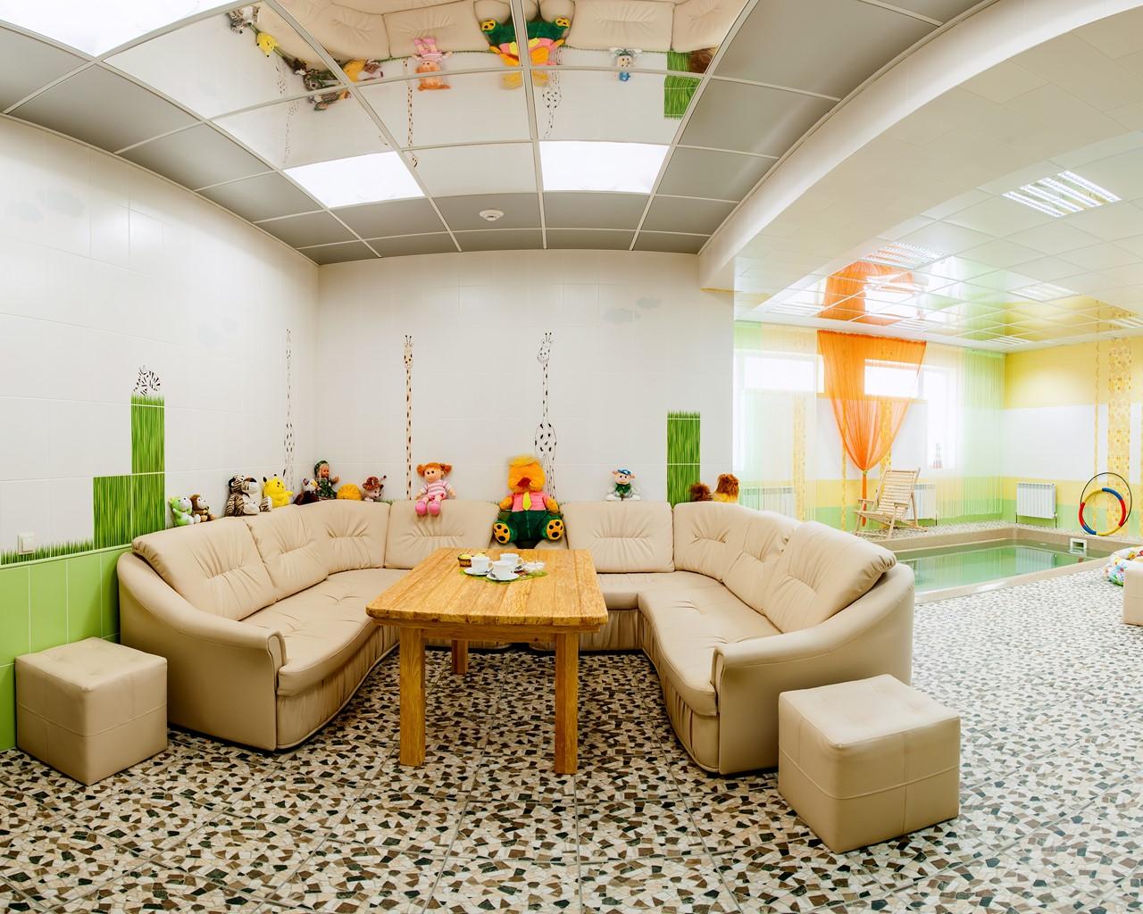 Саунный комплекс парк-отеля Новый век
