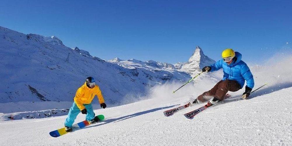 Мастер-класс по горным лыжам или сноуборду Лавка Чудес