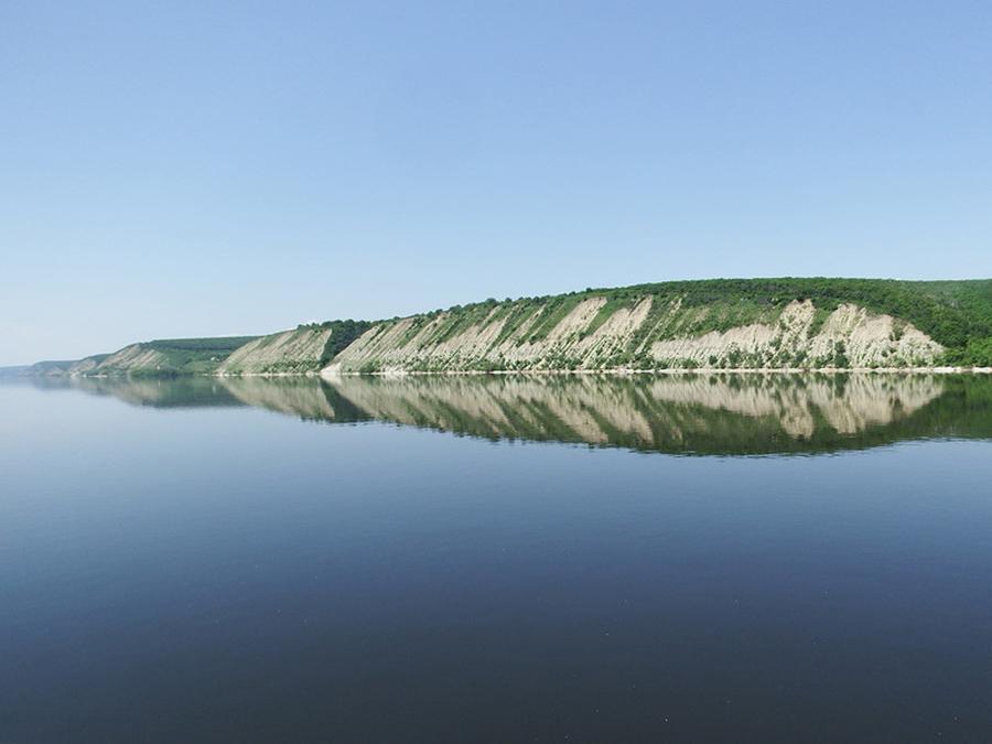 Золотовское побережье Волги