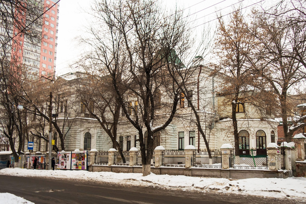 Саратовская резиденция губернатора П.А.Столыпина