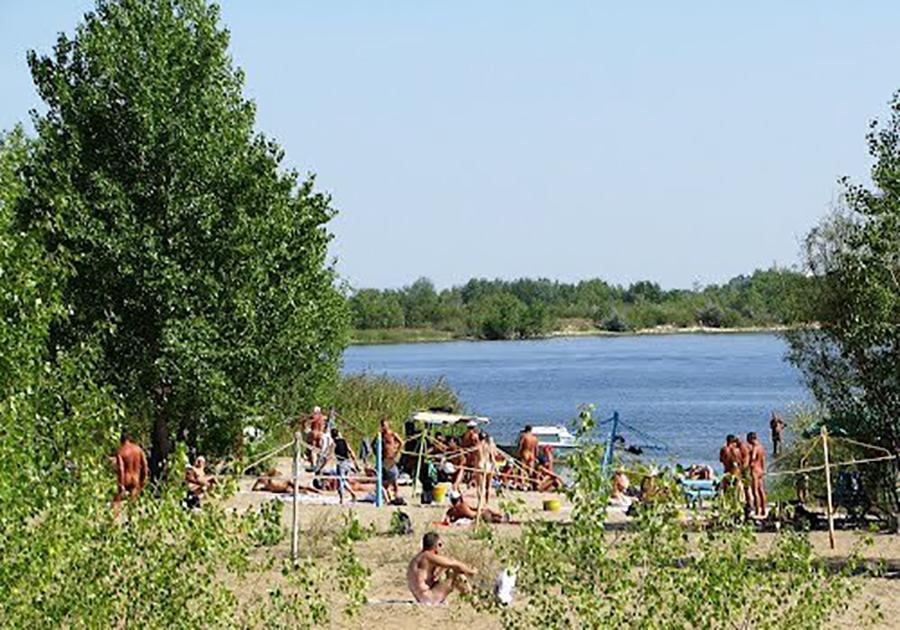 Саратовский нудистский пляж