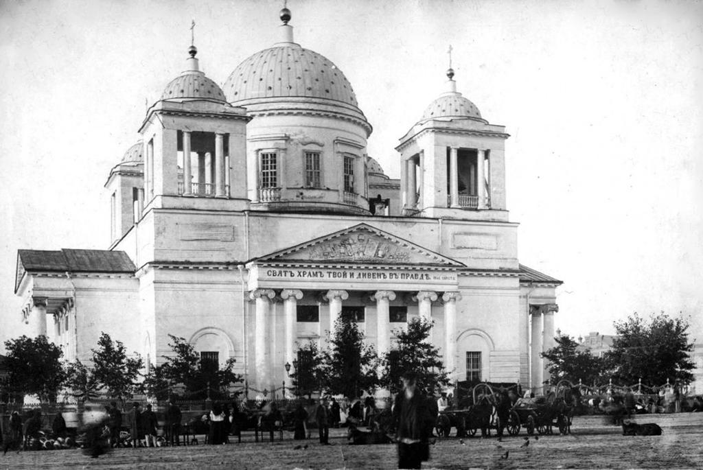 Бывший храм Усекновения Главы Иоанна Предтечи