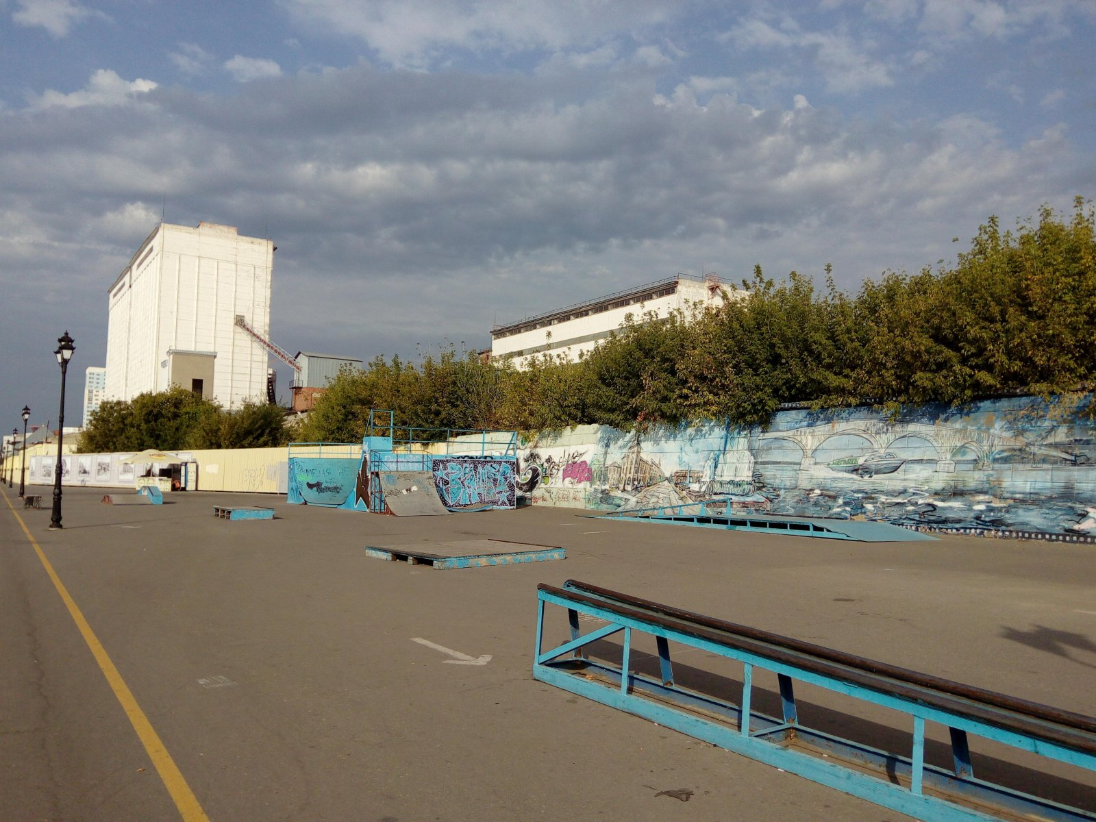 Скейт-парк на набережной