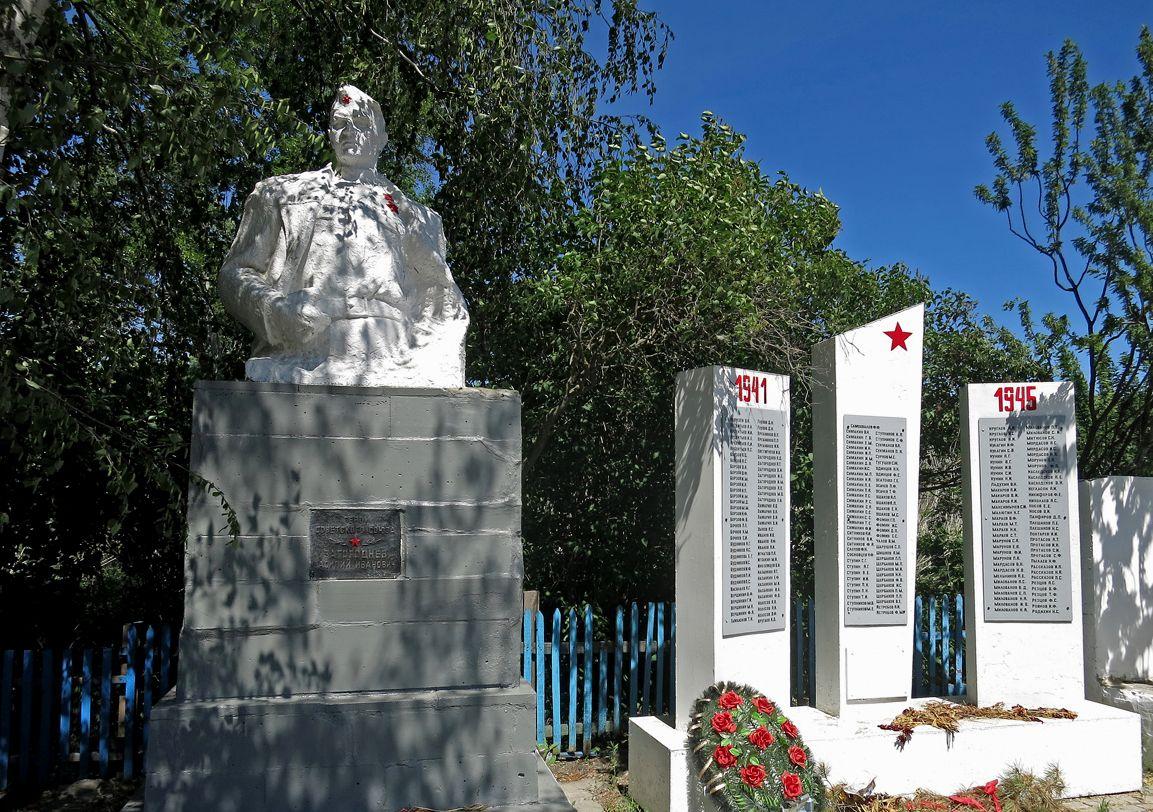 Памятник Загородневу Василию Ивановичу