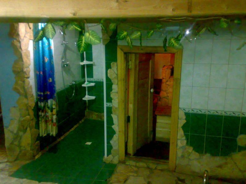 Русская баня с веником