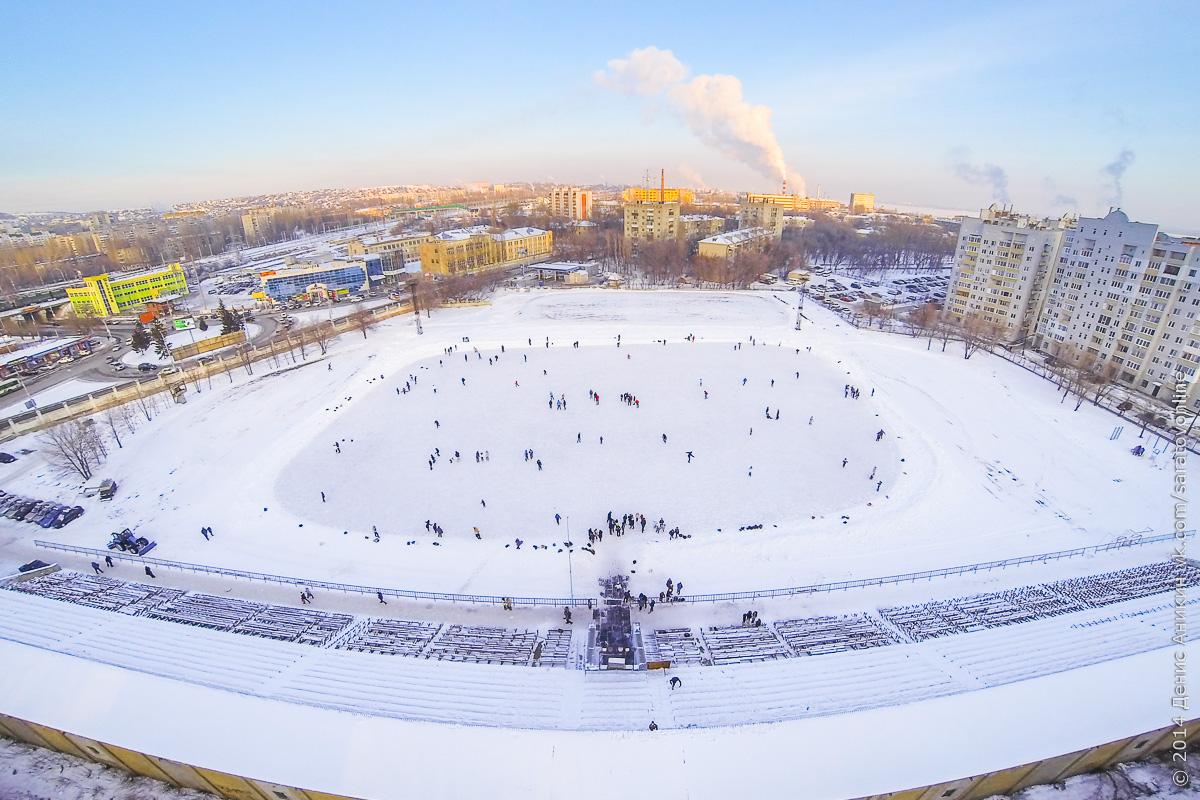 Зимние открытые катки