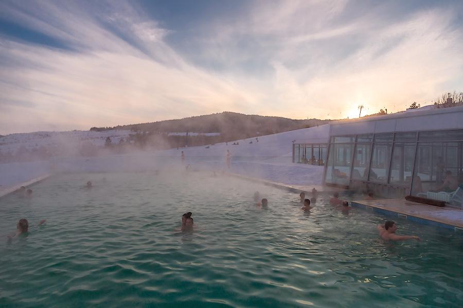 Открытый термальный бассейн «Хвалынские Термы»