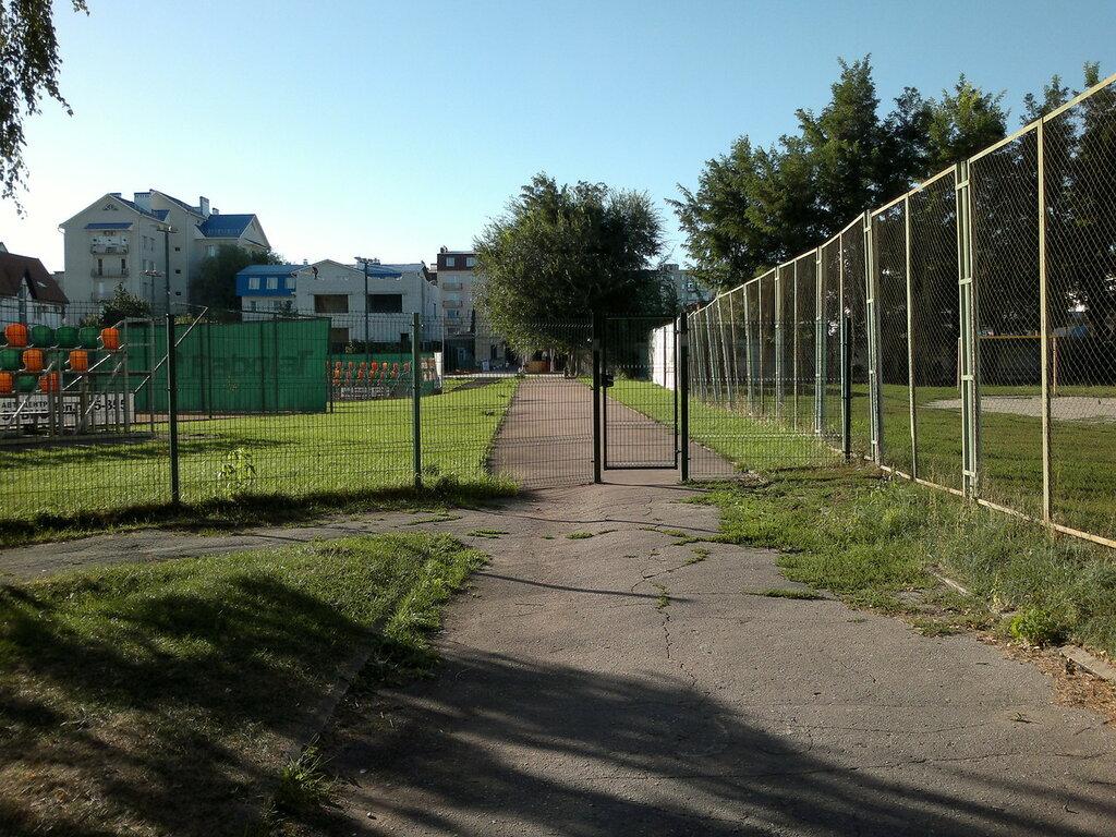 Зона солярия Городского парка