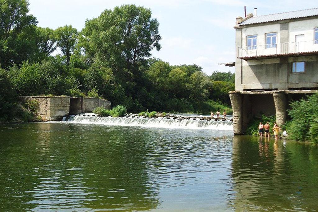 Бывшая Лысогорская гидроэлектростанция