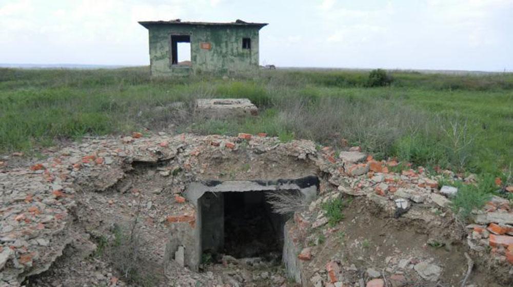 Демонтированная шахтная пусковая установка УР-100НУ