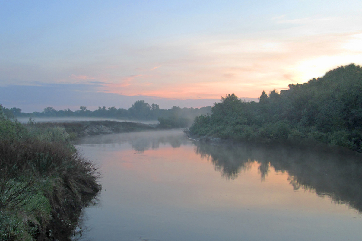 Район слияния рек Медведица и Карамыш