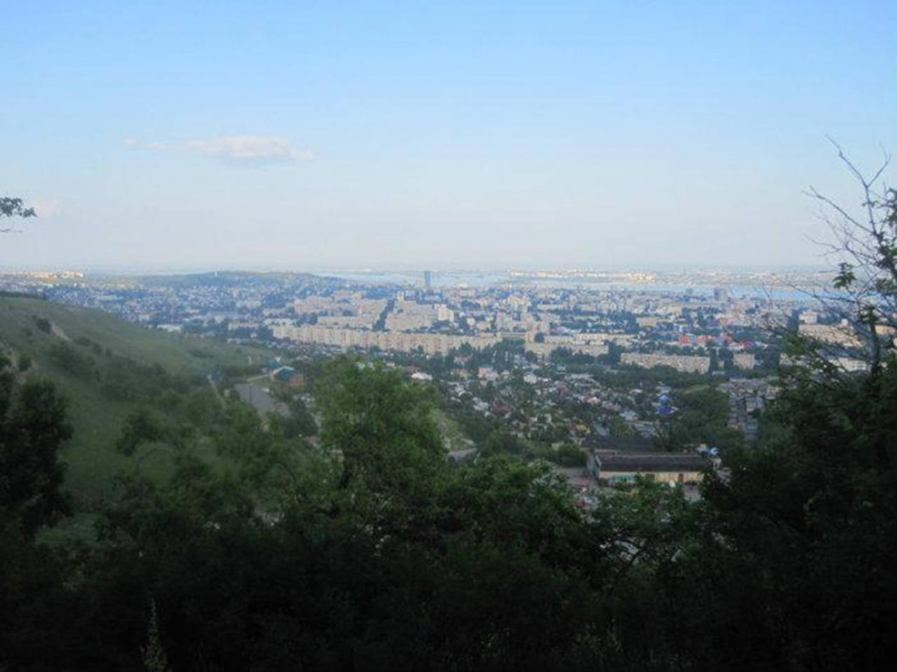 Склон Лысой горы над Шелковичной