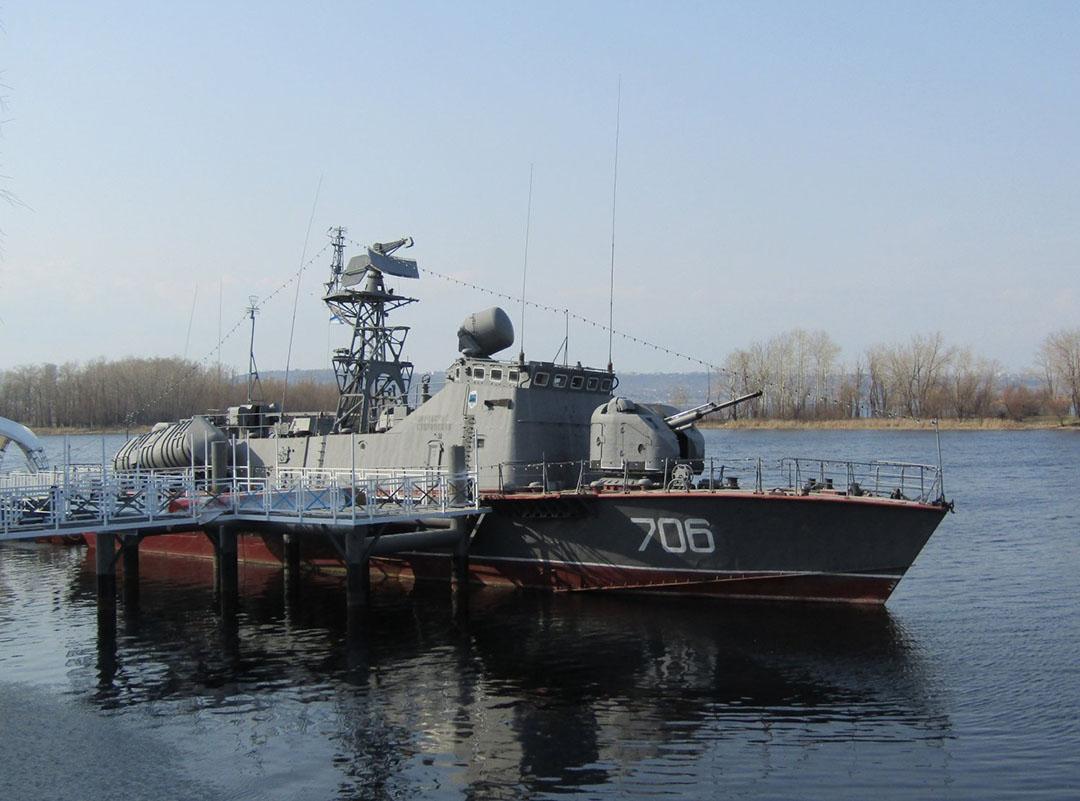 """Катер-музей """"Покровский сторожевой"""""""