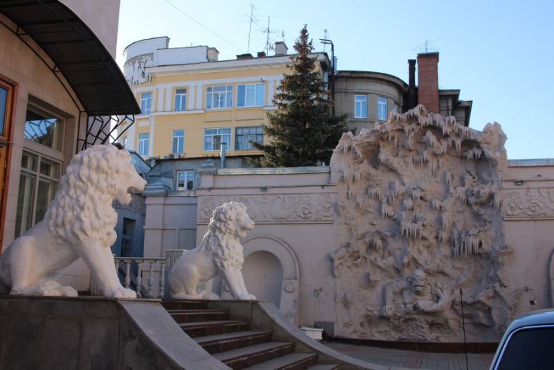 Особняк со львами П. И. Шмидта