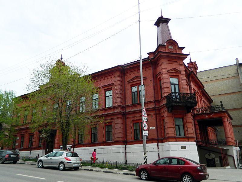 Усадьба П. П. Шмидта