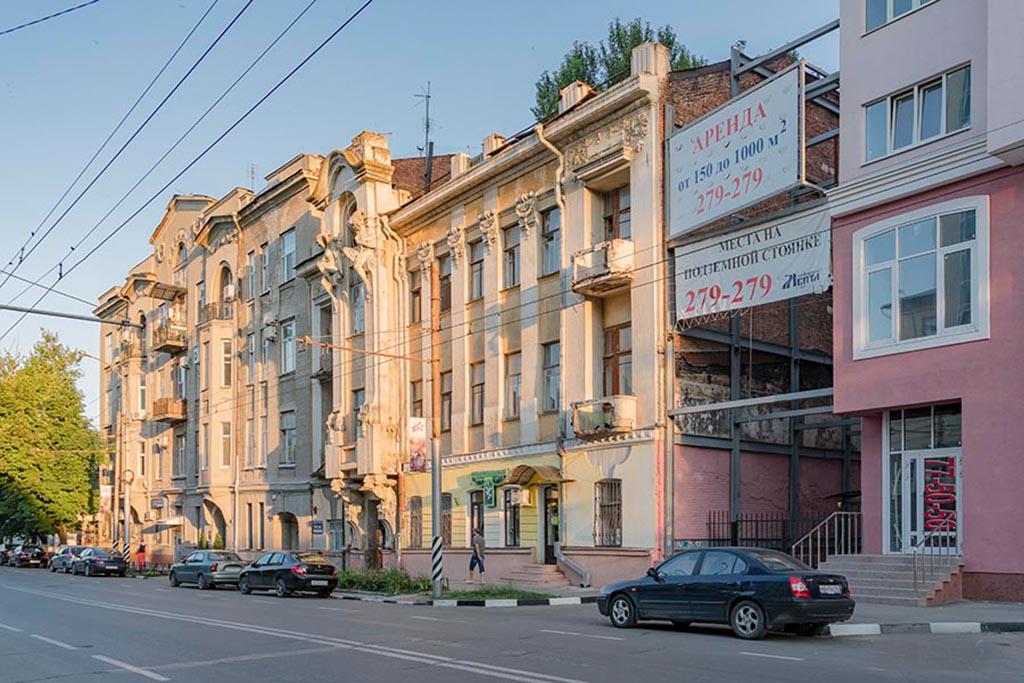 Доходный дом В. Я. Яхимовича (дом с кариатидами)