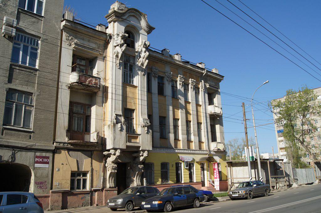 Дом В. Я. Яхимовича (дом с кариатидами)