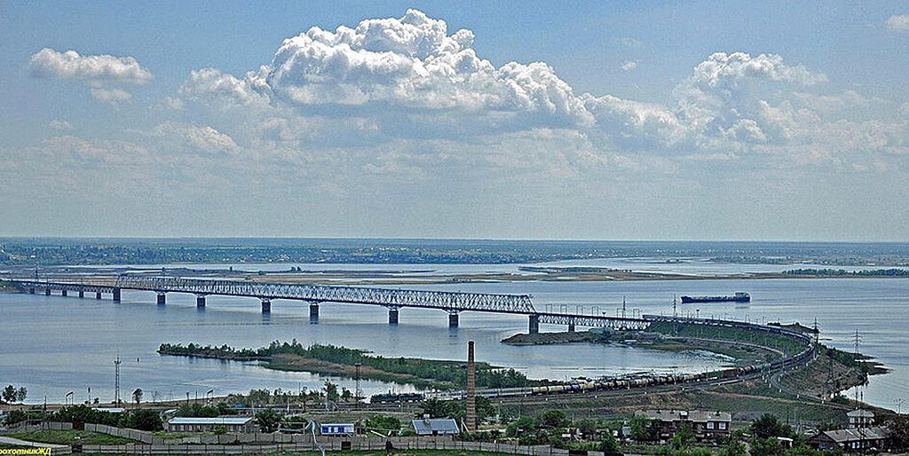 Саратовский железнодорожный мост