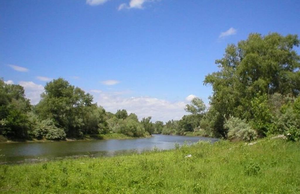 Большая поляна на реке Карамыш