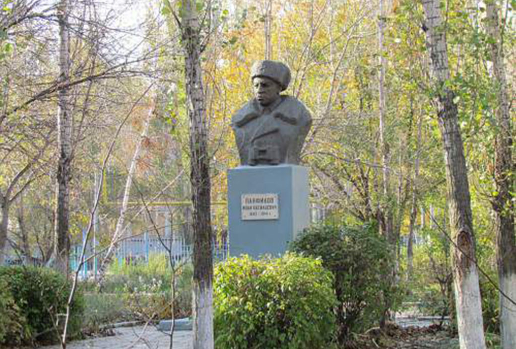 Памятник И. В. Панфилову