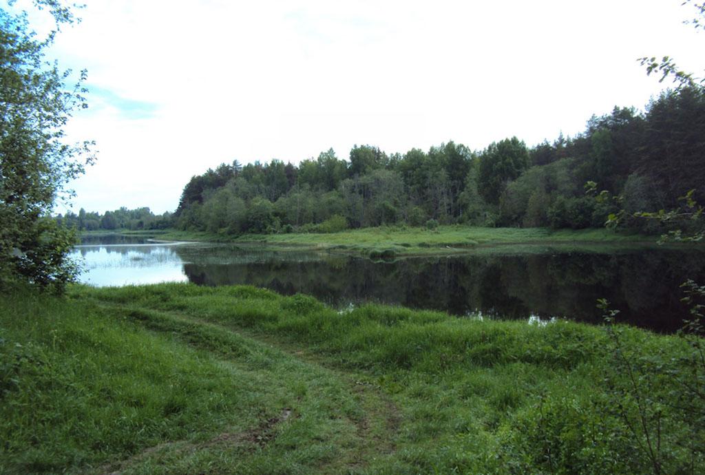 Место впадения речки Баланда в Медведицу