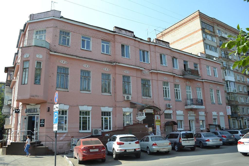 Дом врача И.С. Брода в котором жил Олег Табаков