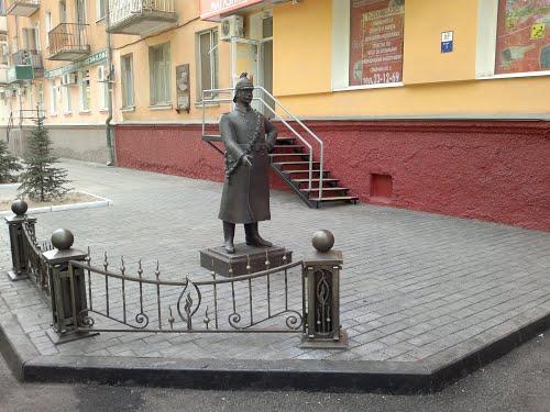 "Памятник ""Брандмейстер города"""