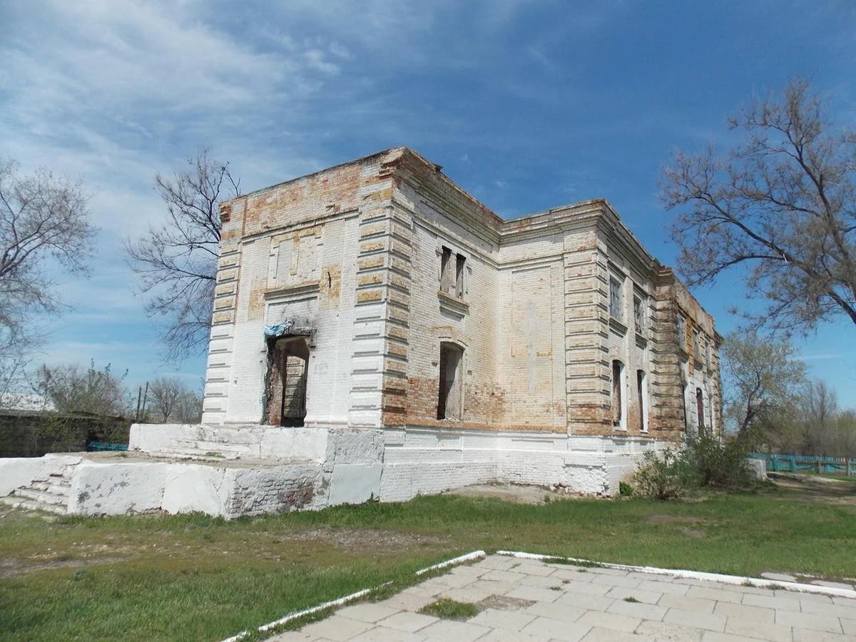 Лютеранская церковь Екатериненталя