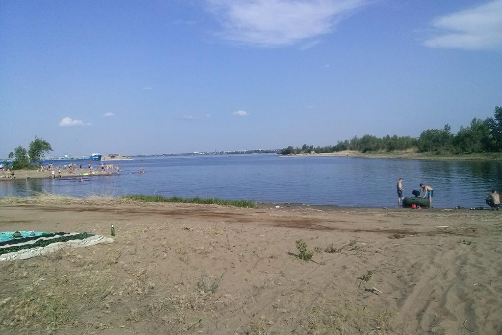 Пляж в Увеке