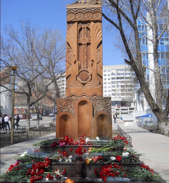 """Каменный крест """"Хачкар"""""""