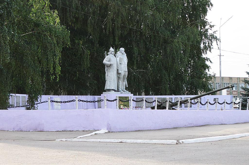 Мемориальный комплекс Односельчанам, павшим в Великой Отечественной войне