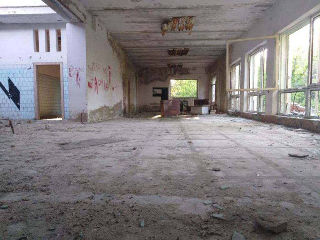 Заброшенная турбаза в Вязовке