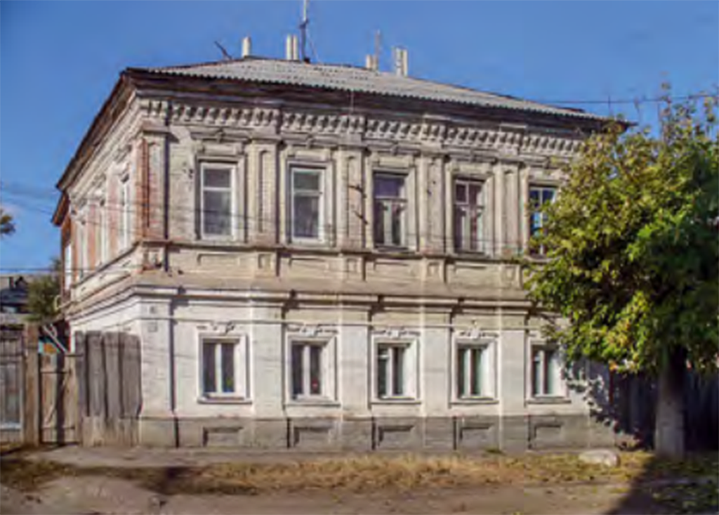 Городская усадьба И.В. Меркульева