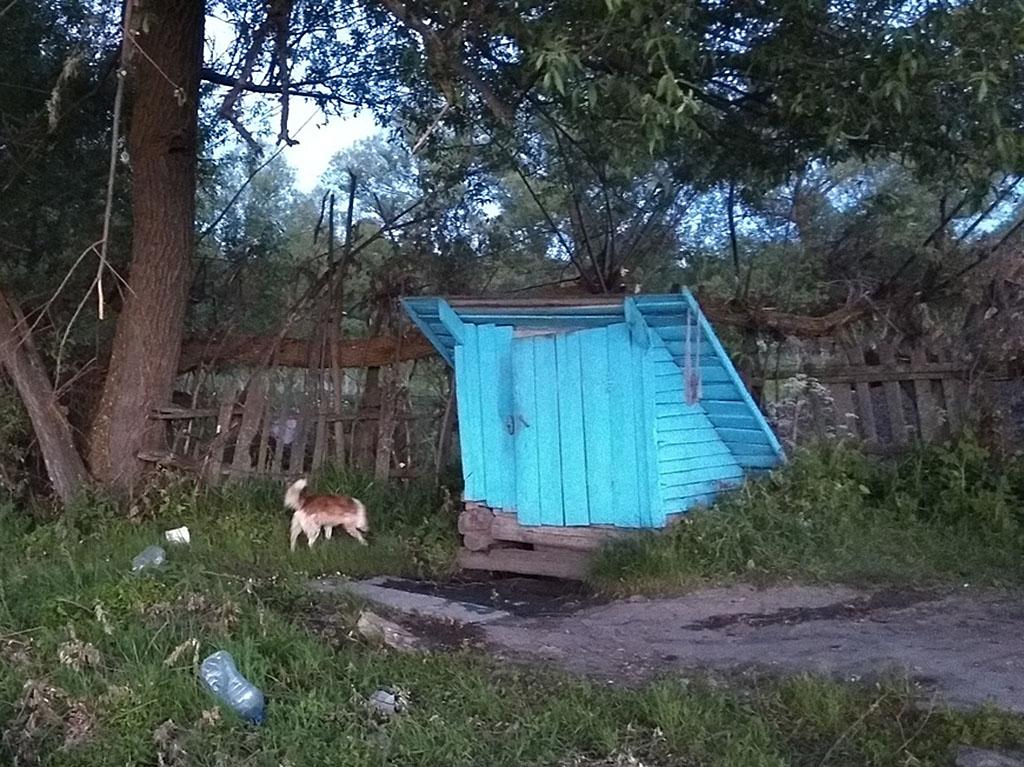 Родник в деревне Юрловка