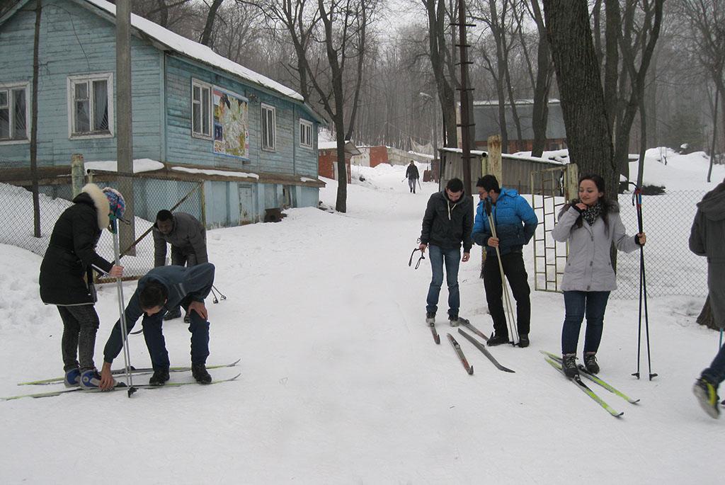 Лыжная база СГУ