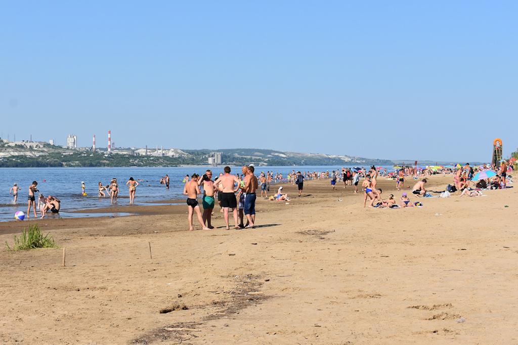 Вольский городской пляж