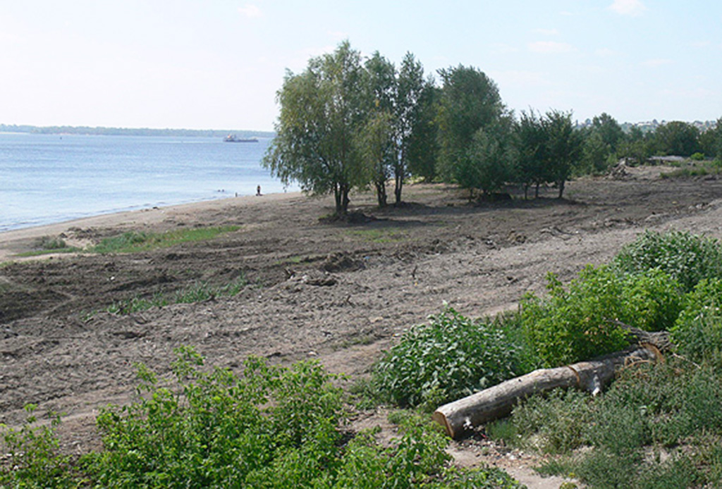 Пляж в Вольске