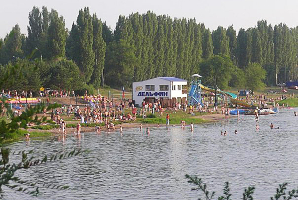 Балаковский пляж 1-го микрорайона