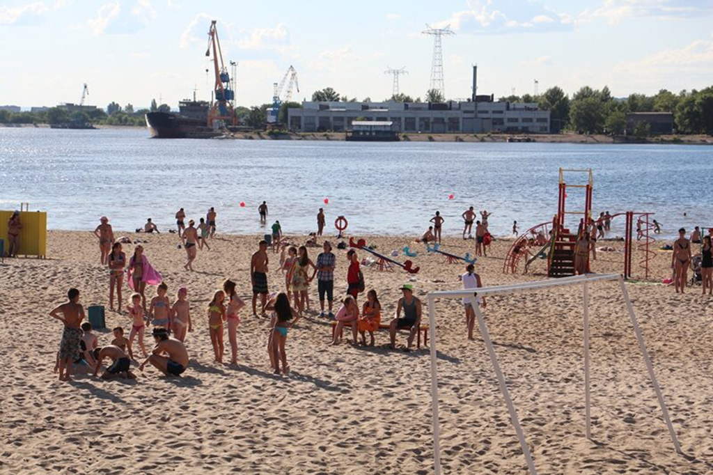 Балаковский пляж 7-го микрорайона