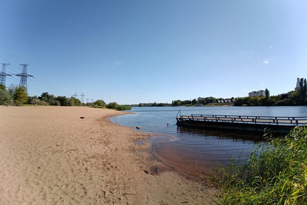 Пляж на Балаковке