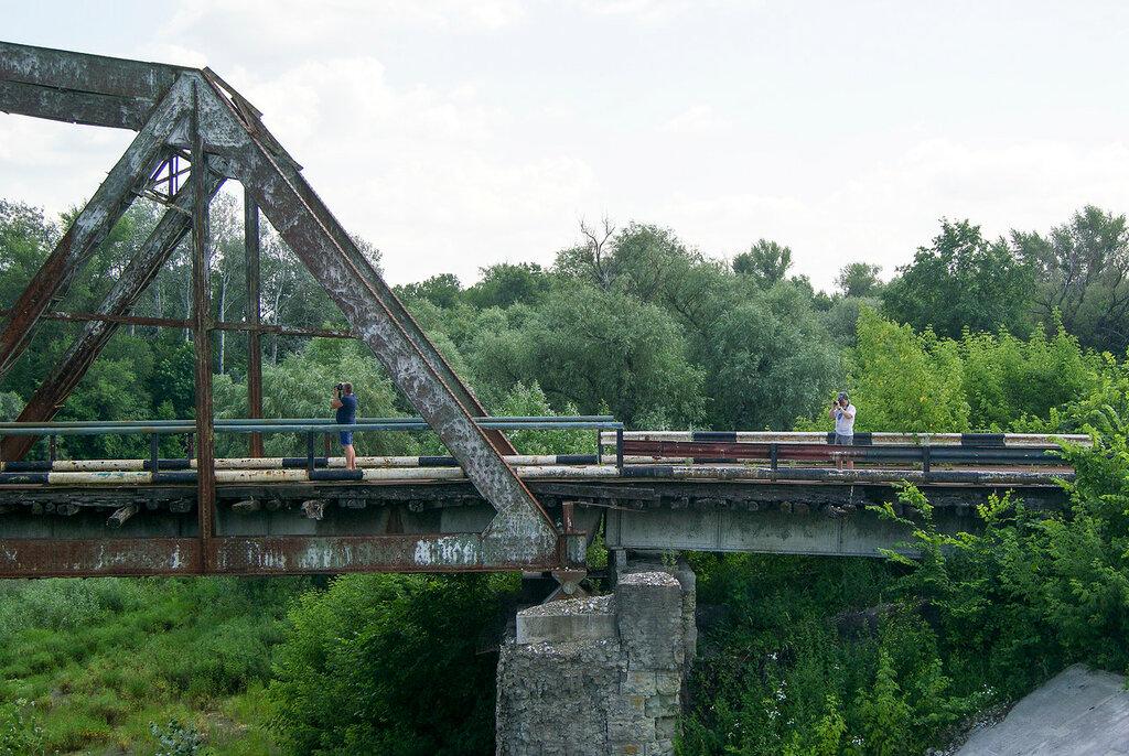 Мост Аркадак- Турки 1902 года постройки