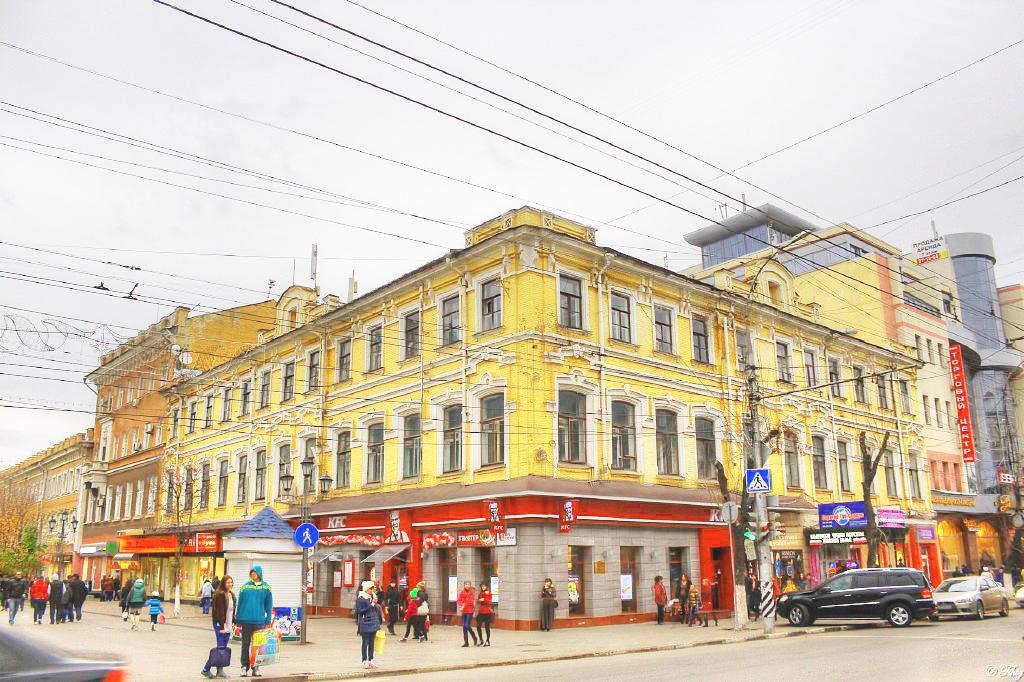 """Гостиница """"Европа"""" (доходный дом купца П. Л. Санина)"""